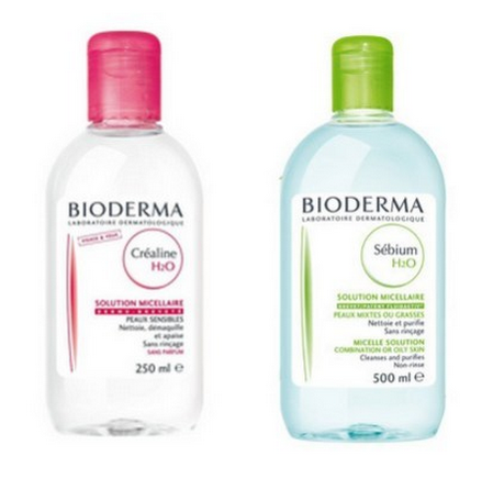 l eau micellaire cr aline h20 de bioderma une merveille. Black Bedroom Furniture Sets. Home Design Ideas