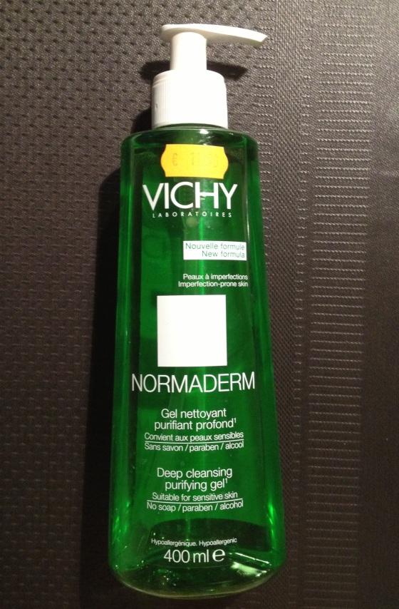 gel nettoyant purifiant Normaderm de chez Vichy