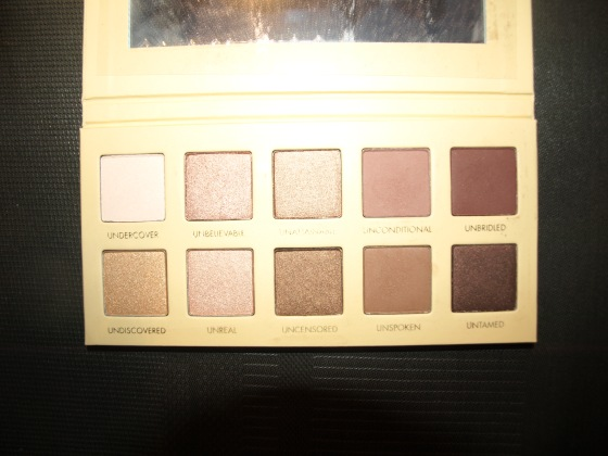 UNZIPPED EYE SHADOW PALETTE  de chez LORAC