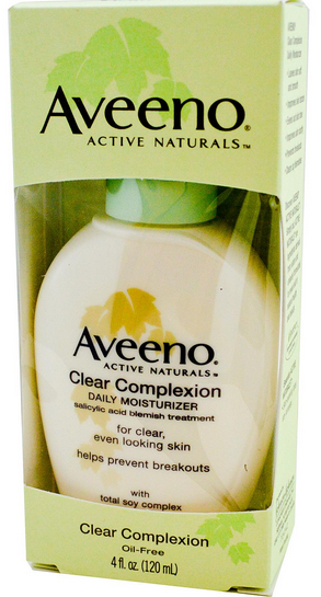 aveeno clear complexion meilleure cr me hydratante pour les peaux imperfections. Black Bedroom Furniture Sets. Home Design Ideas