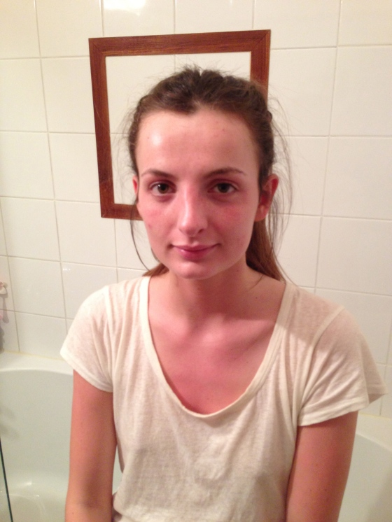 emy avant maquillage