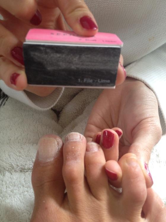 Traitent tout pour lintensification des ongles