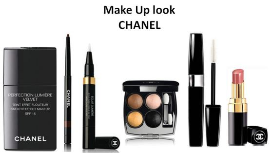 Make Up look chanel