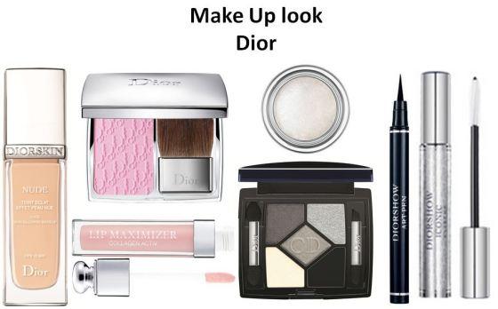 make up look Dior