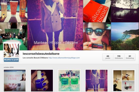 instagram albane